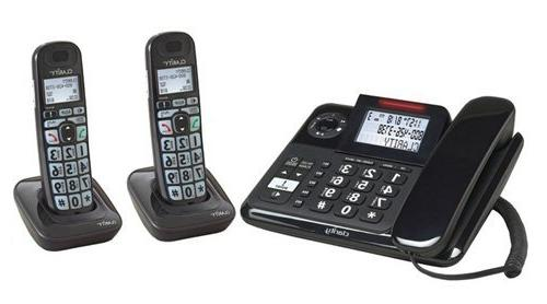 Clarity E814 Moderate Hearing Loss Cordless Phone with E814H