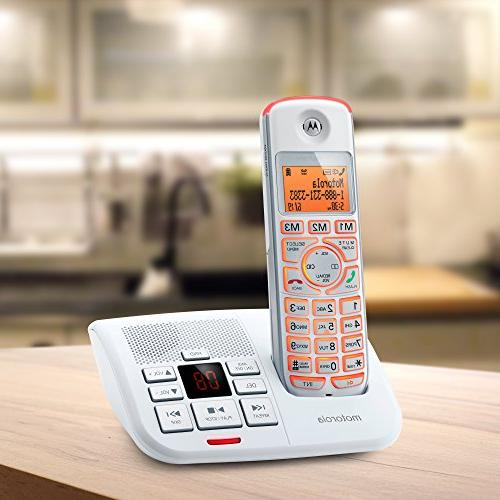 Motorola DECT Big Button with Caller K702-White