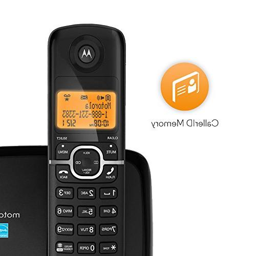 Motorola DECT 6.0 Phone with 1 Handset and ID