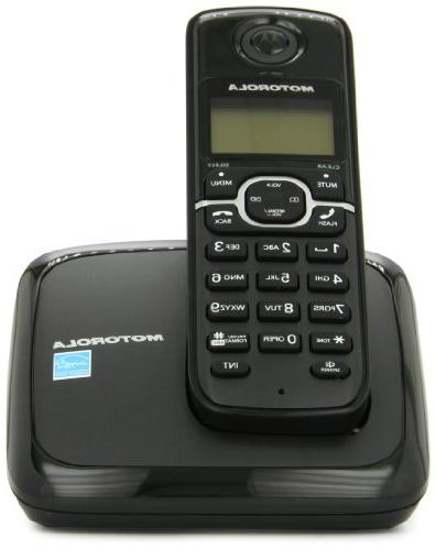 Motorola Cordless Phone with 1 and