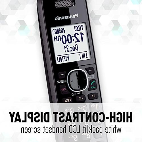 Bluetooth Enabled with Machine 2 Phone lines 2 Cordless Handsets -
