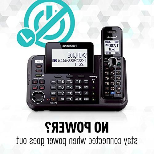 PANASONIC Bluetooth with Machine and lines 2 Handsets