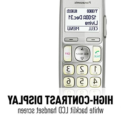 Panasonic KX-TGE263S Link2Cell Bluetooth Enabled Machine, 3 Cordless Handsets