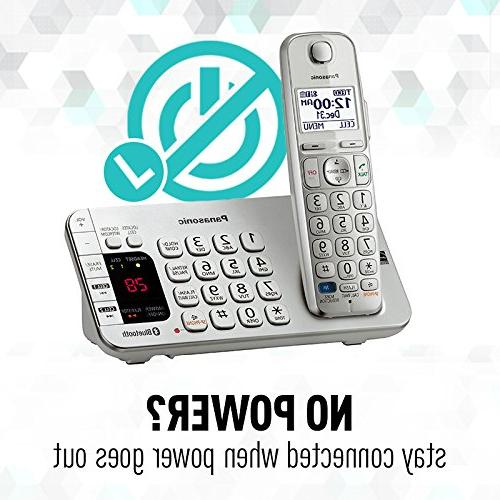 Panasonic Handsets Link2Cell Bluetooth with Answering Silver