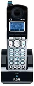 Phone Handset, 6.0, f/2-Line Cordless Sys., Trilingual, Blac