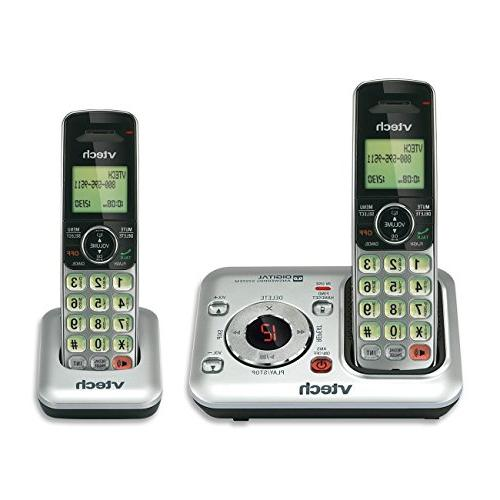 VTech CS6429-2 2-Handset DECT 6.0 Cordless Phone with Answer