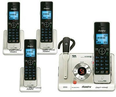 VTech LS6475-3 DECT 6.0 Expandable Cordless Phone with Answe