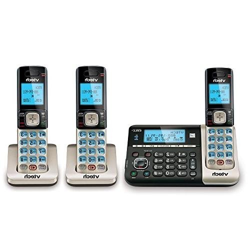 Vtech Ds6751-3 6.0 Cordless System With To Cell Digital Answering System -