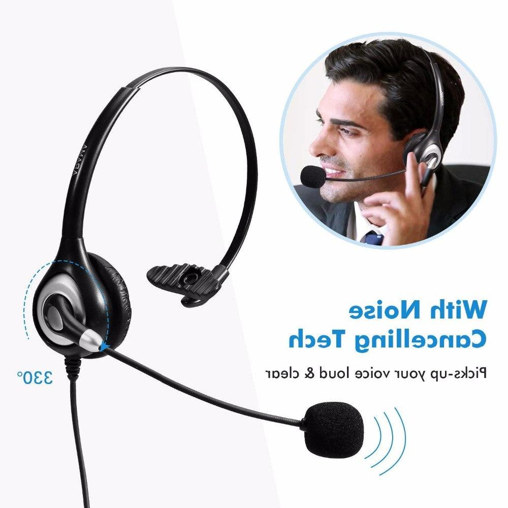 Wired <font><b>Headset</b></font> Panasonic 2.5mm Plus Other DECT