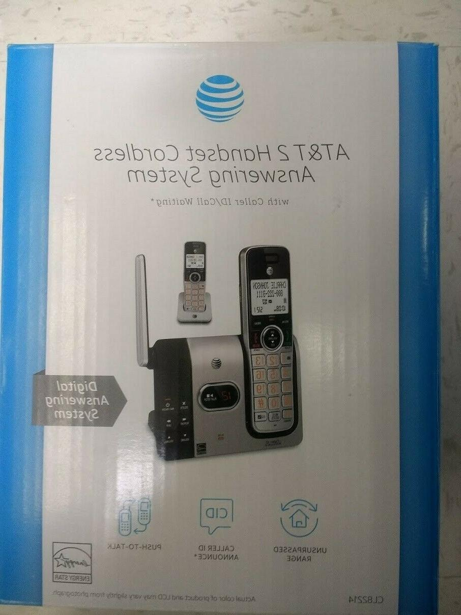 at and t 2 handset cordless phone