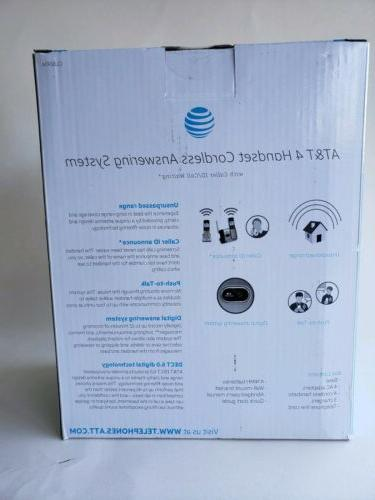 ATT 4 Answering System Caller ID Call New