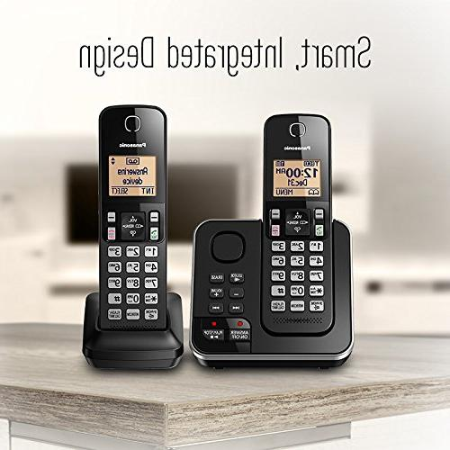 Panasonic Phone And Answering With 2 Handsets