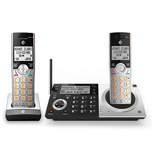 AT&T Expandable Phone with Smart Blocker, with 2 Handsets