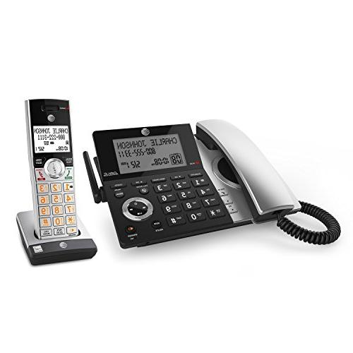 AT&T CL84107 DECT Expandable with Smart Blocker, with 2 Handsets
