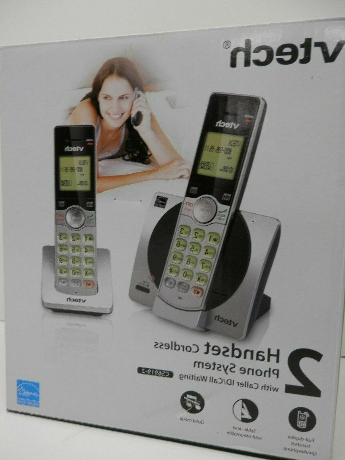 CORDLESS PHONE SYSTEM WITH