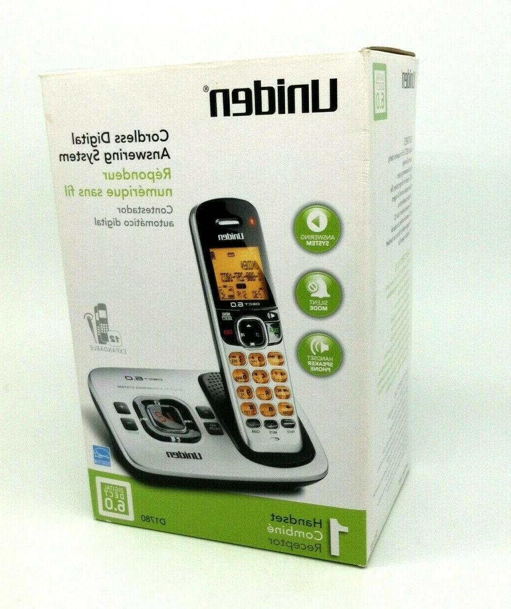 d1780 cordless digital phone w answering system