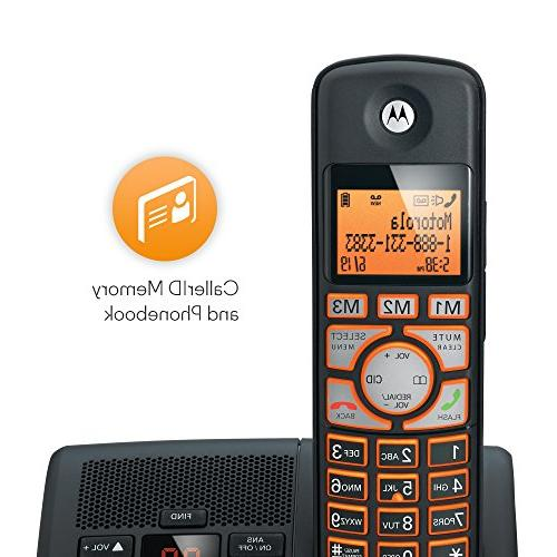 Motorola DECT 6.0 Big Phone with Handsets, ID and K702B -
