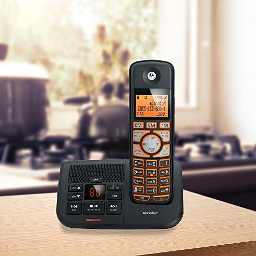 Motorola DECT Big with 2 ID K702B - Black
