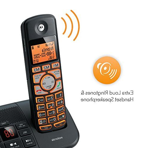 Motorola DECT Big Backlit with Handsets, K702B -