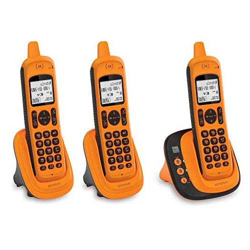 Waterproof Phone with Bluetooth Amber,