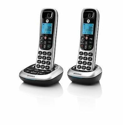 Motorola w/ Answering Machine 2 Handsets
