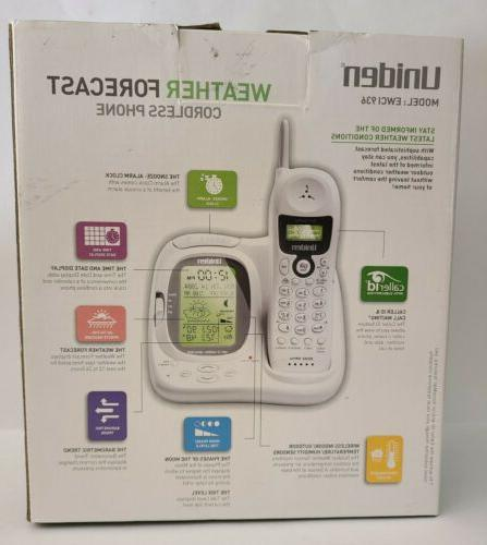 Uniden 900 MHz Analog Cordless Weather & Caller ID NEW