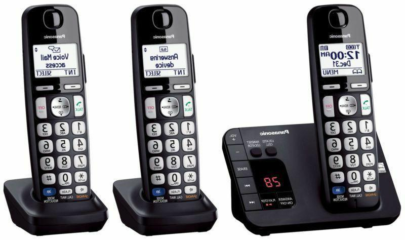 Panasonic Phone with Large - 3