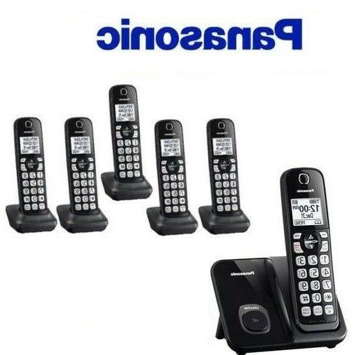 expandable cordless phone system 6 handsets kx