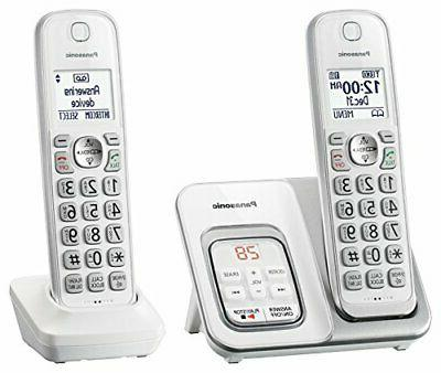 PANASONIC Expandable Cordless Phone System with Answering Ma