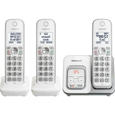 expandable cordless phone with call block