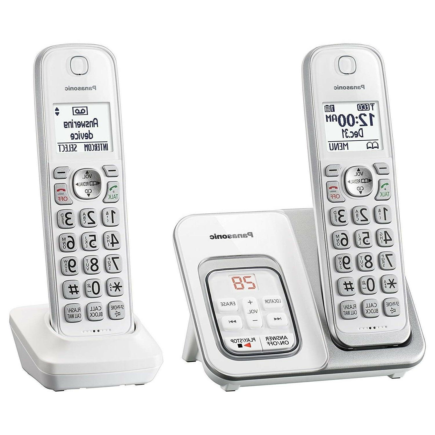 home phone cordless system with answering machine