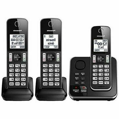 home phone with answering machine wireless cordless
