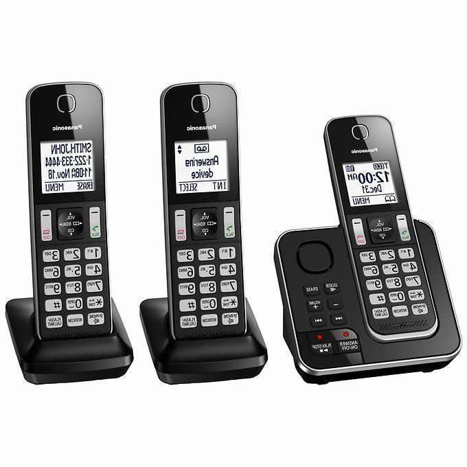 Panasonic Handset Telephone Answering