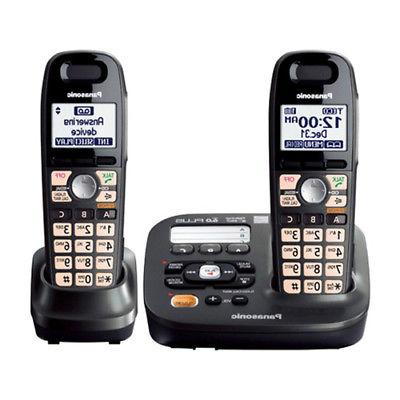 Panasonic Expandable Digital Cordless Answering with 2