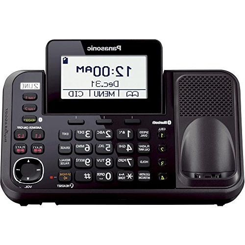 Enabled 2-Line Answering Cordless Handset