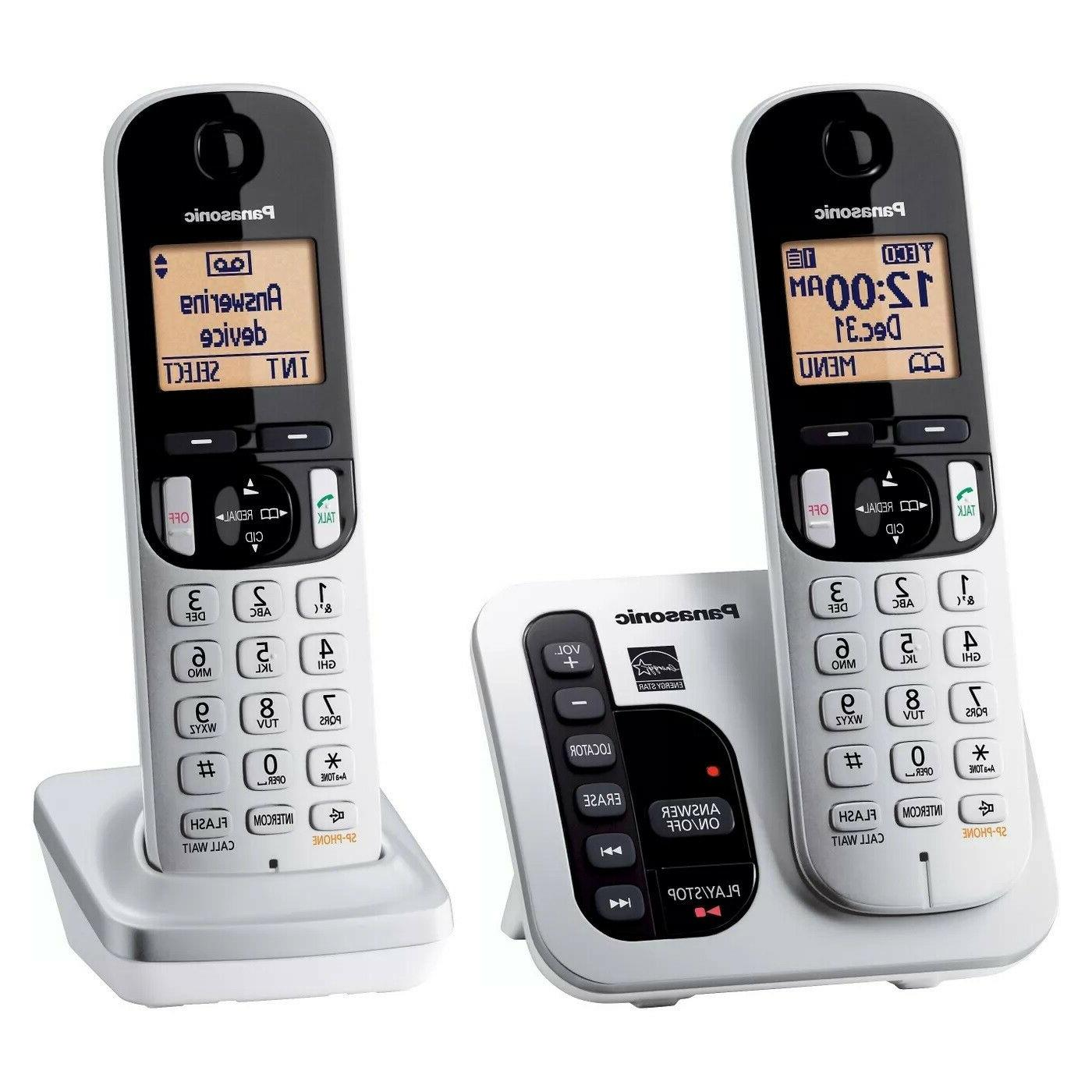 kx tgc222s expandable cordless answering