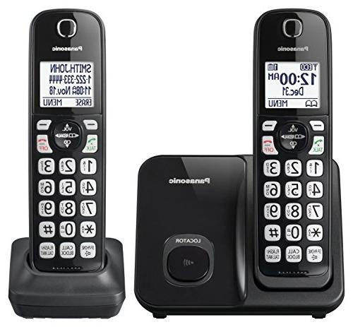 Panasonic KX-TGD512B Expandable Cordless Phone with - 2