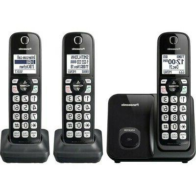 kx tgd513b expandable cordless phone with call