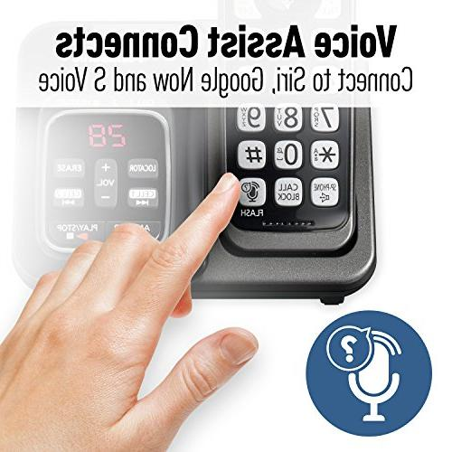 Panasonic KX-TGD563M Link2Cell Cordless Phone with Voice Assist and -