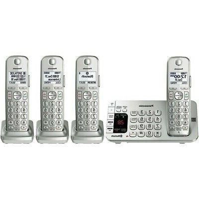 kx tge474s link2cell bluetooth cordless phone system