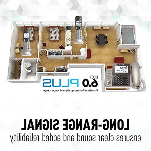 Phone System with Answering Machine Call Blocking Handsets -