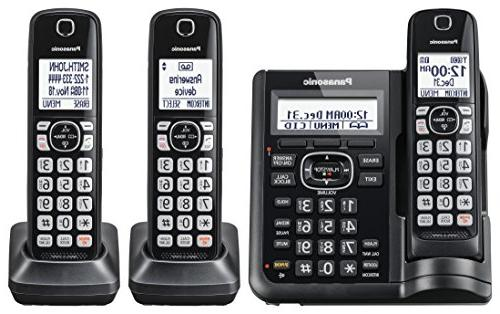 Panasonic Expandable Phone with Call and Machine -