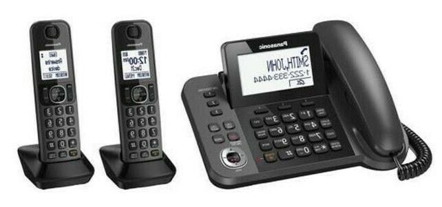 kxtg572sk cordless corded phone and answering machine