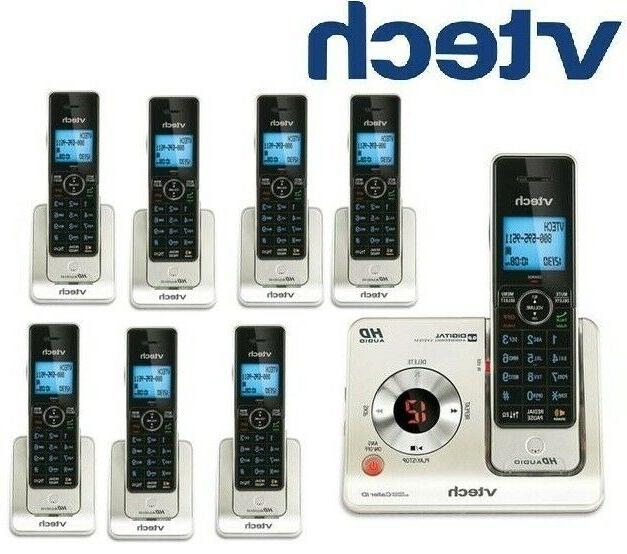Vtech LS6425-3 DECT 6.0 Cordless Voice Announce Answering Sy