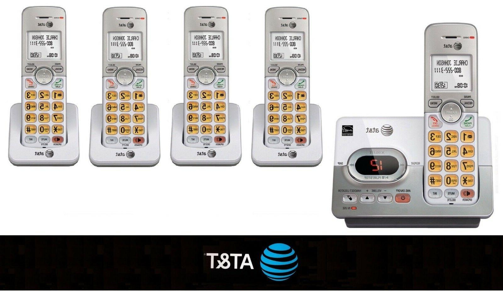 New AT&T 6.0 Cordless Wireless Home Phone