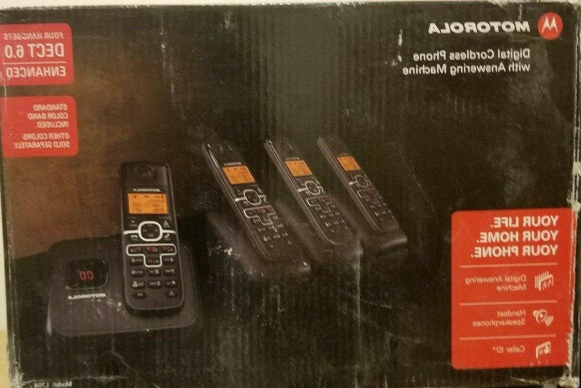 new digital cordless answering machine l704m