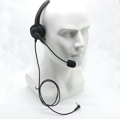 over the head band 2 5mm headset