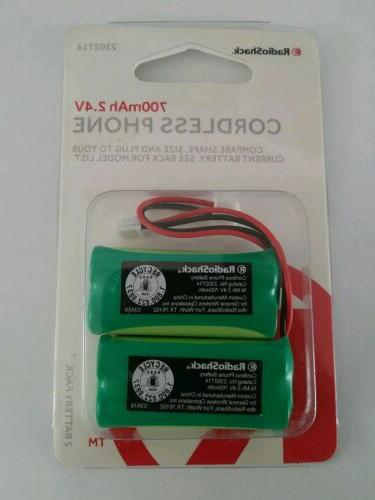 pn 2302714 cordless phone battery 2 4v