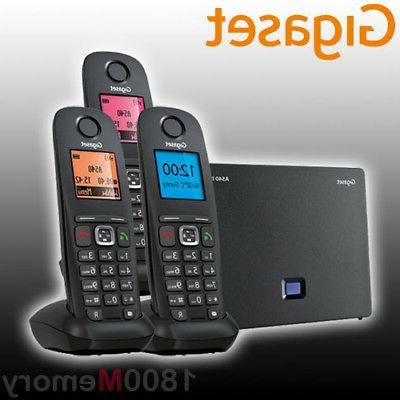 siemens a540ip trio voip cordless eco dect