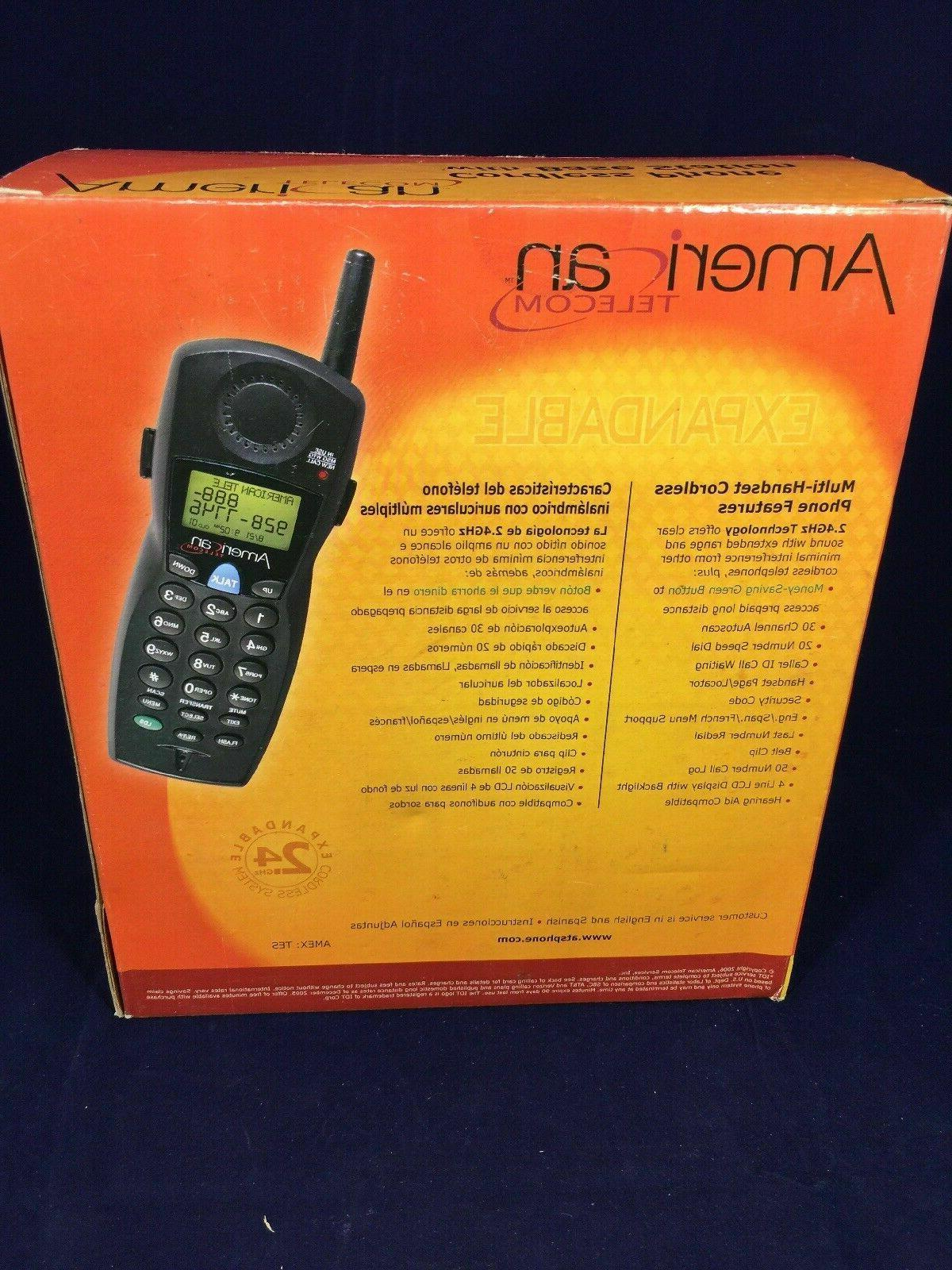 American Telecom UA2020EB GHz Single Phone
